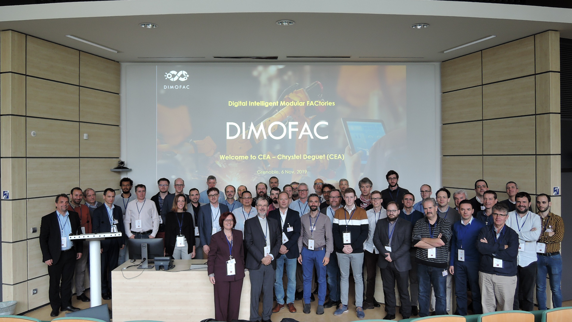 The DIMOFAC initiative was officially launched!