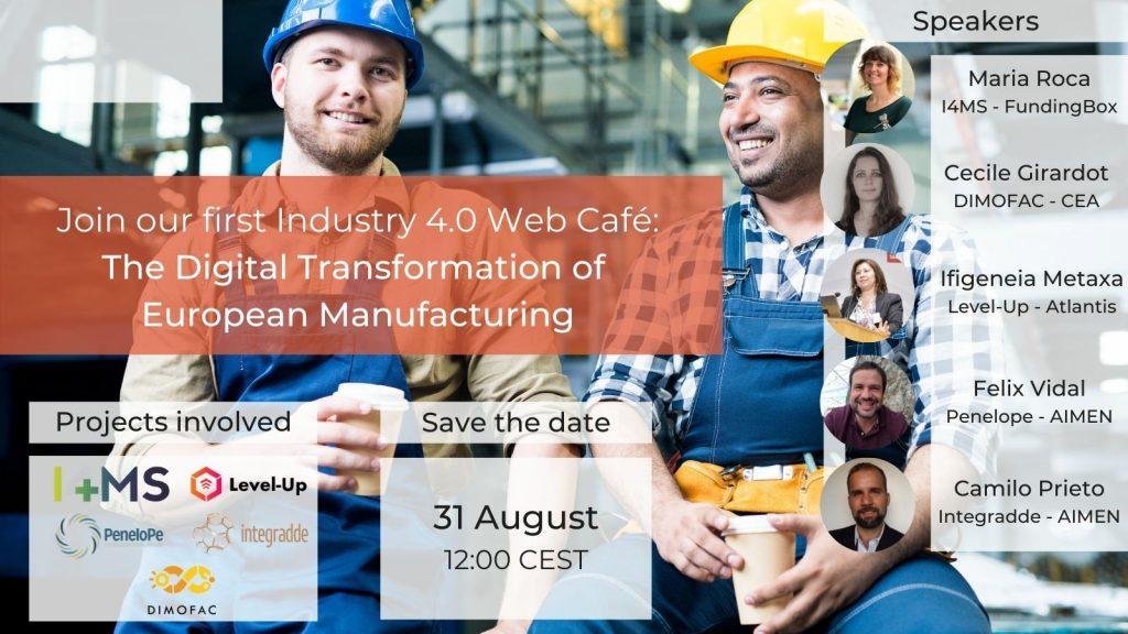 Banner - Industry 4.0 Web Café