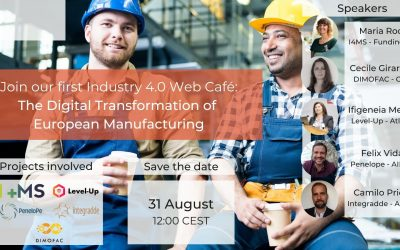 Webinar: Be part of the 91% of manufacturers investing in Digital Factories in Europe